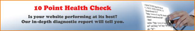 10 point website healthcheck