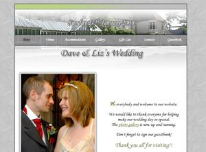 www.daveandlizwedding.co.uk